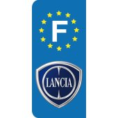 Stickers Plaque Lancia