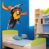 Autocollant Stickers ado super hero