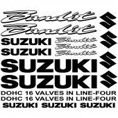 Autocollant - Stickers Suzuki bandit