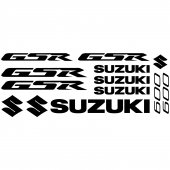 Autocollant - Stickers Suzuki Gsr 600