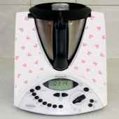 Stickers Thermomix TM31 Coeur rose