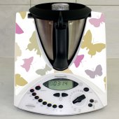 Stickers Thermomix TM31 Papillon en folie