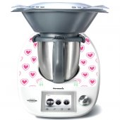 Stickers Thermomix TM5 Coeur en folie 4