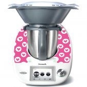 Stickers Thermomix TM5 Coeur en folie 5