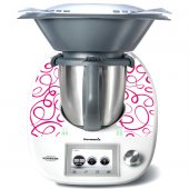 Stickers Thermomix TM5 Liseret fushia