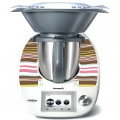 Stickers Thermomix TM 5 Rayures