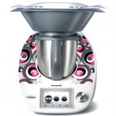 Stickers Thermomix TM5 Rond design 3
