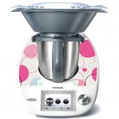 Stickers Thermomix TM 5 Ronds Design