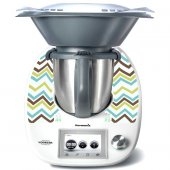 Stickers Thermomix TM5 Vagues
