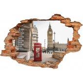 Stickers Trompe l'oeil 3D Londre