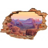 Stickers Trompe l'oeil 3D Texas