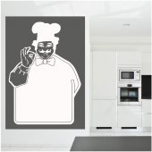 Stickers velleda chef cuisine