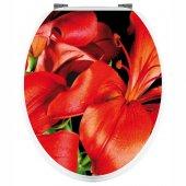 Stickers Fleurs Rouges
