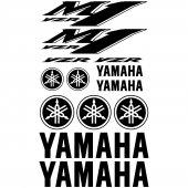 Autocollant - Stickers Yamaha YZR M1