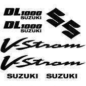 Suzuki DL 1000 Vstrom Aufkleber-Set