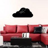 Tafelfolie Wolken