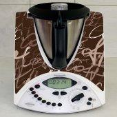 Thermomix TM31 Aufkleber Kaffee
