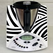 Thermomix TM31 Aufkleber Zebra