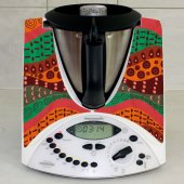Thermomix TM31 Decal Stickers - Africa