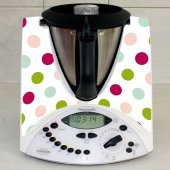Thermomix TM31 Decal Stickers - multicolor dots