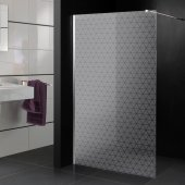 Triangles - shower frosted sticker