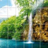 vinilo azulejos cascada
