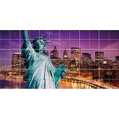 vinilo azulejos estatua de la libertad