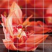 vinilo azulejos flor
