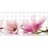 vinilo azulejos flores