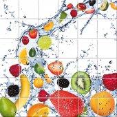 vinilo azulejos frutas