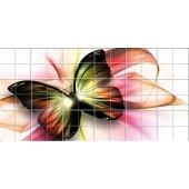vinilo azulejos Mariposa
