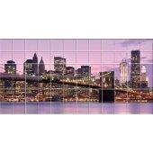 vinilo azulejos puente de Nueva york