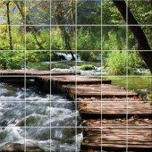 vinilo azulejos río