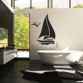 Vinilo decorativo barco