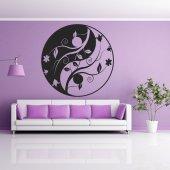 Vinilo decorativo ying yang