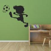 Vinilo infantil fútbol