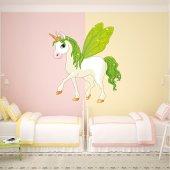 Vinilo infantil unicornio