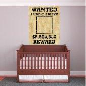 Vinilo infantil wanted