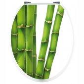 Vinilo para el WC bambú