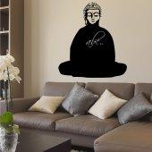 Vinilo Pizarra Buda