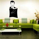 Vinilo Pizarra David Beckham