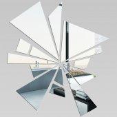 Wandspiegel aus abstraktem Acrylglas
