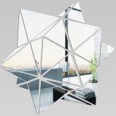 Wandspiegel aus Acrylglas geometrisch