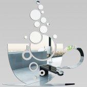 Wandspiegel aus Acrylglas Kaffeetasse