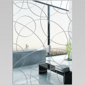 Wandspiegel aus Acrylglas Rechteck Design