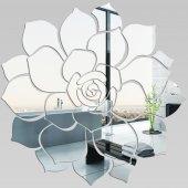 Wandspiegel aus Acrylglas Rose