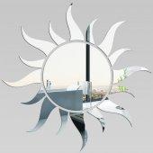 Wandspiegel aus Acrylglas Sonne