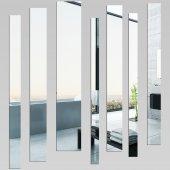 Wandspiegel aus Acrylglas vertikal