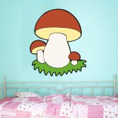 Wandsticker Pilze