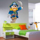 Wandsticker Pirat